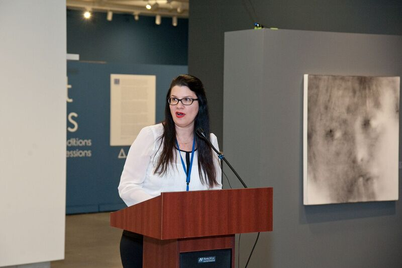 Curator of PAMA's winter art exhibitions