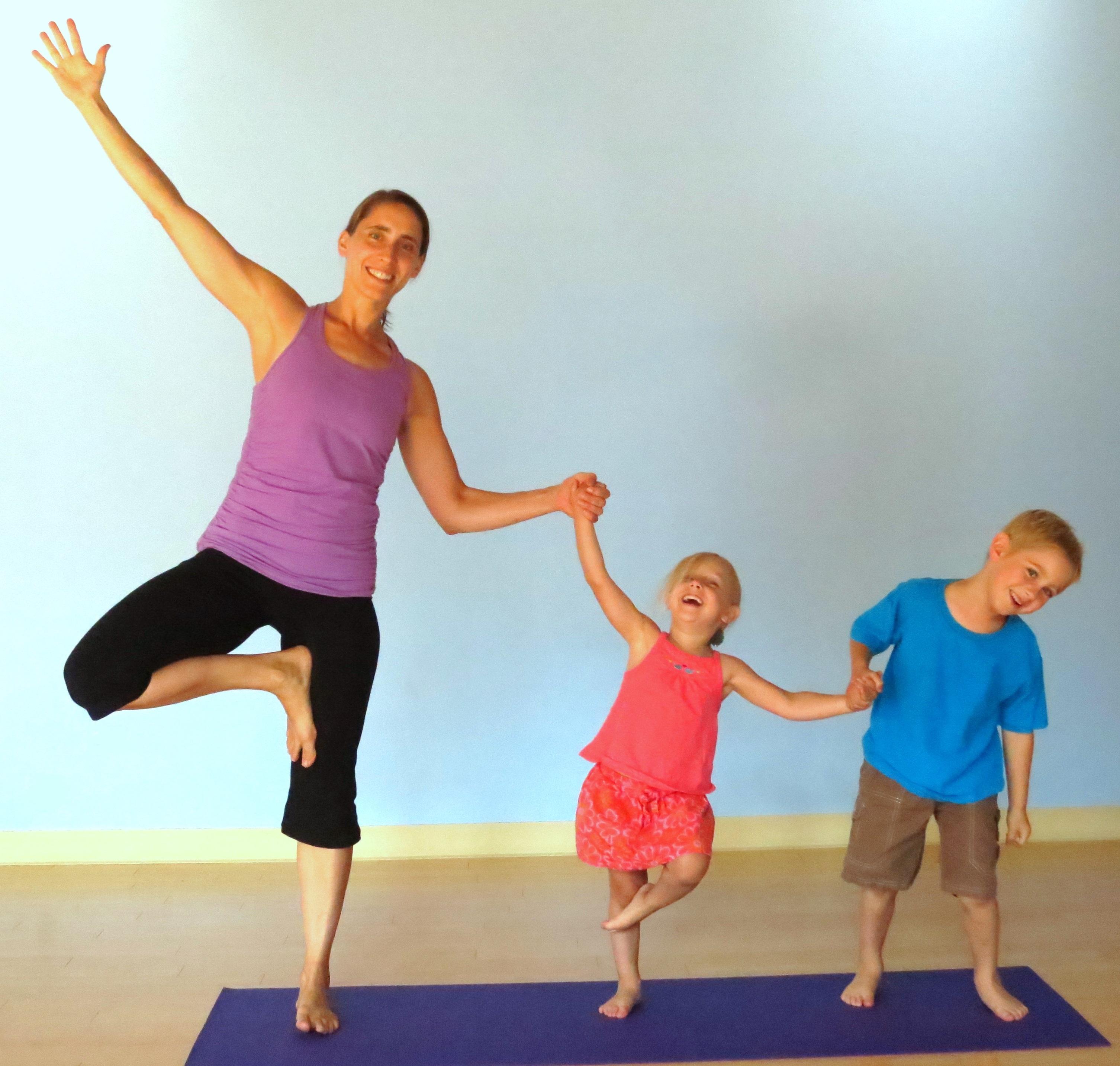 Family Art + Yoga
