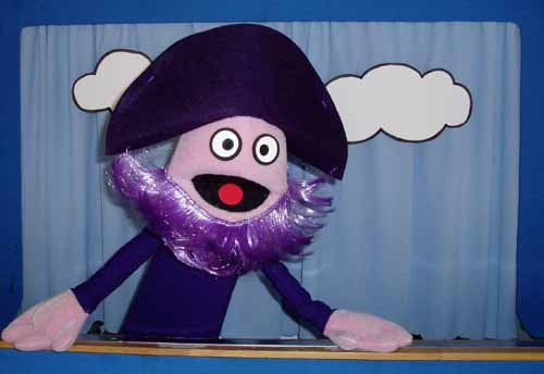 Purple Pirate Puppet Show - Mon. March 13