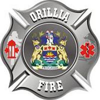 Orillia fire department crest