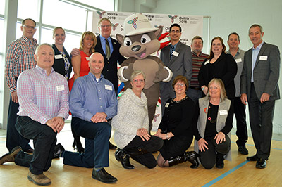 Orillia 2018 Ontario Winter Games one year out event