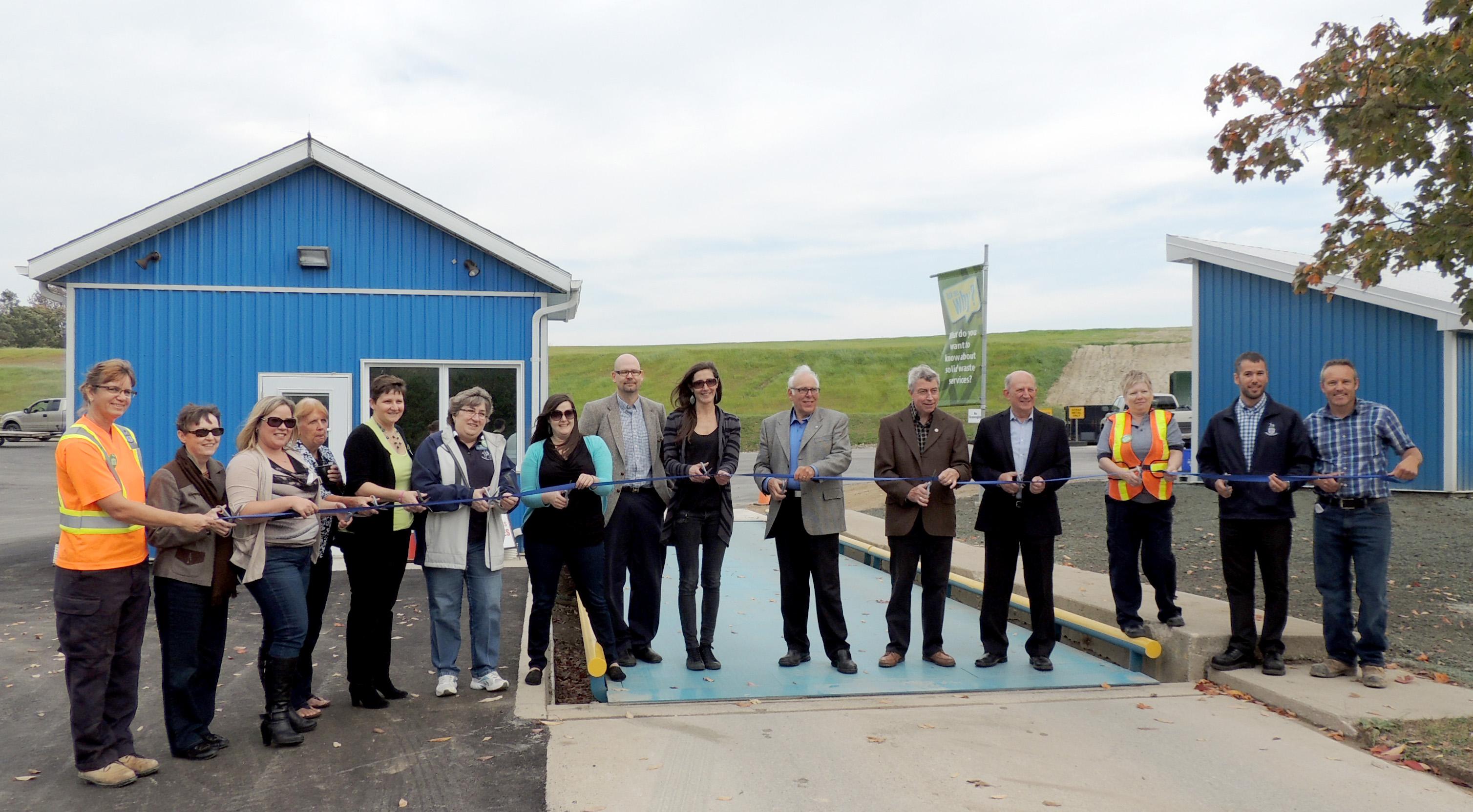Aberfoyle Waste Facility Official Opening October 3