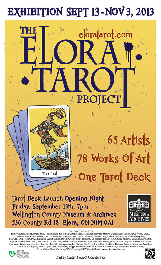 The Elora Tarot Project Poster