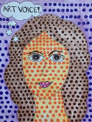 Pop Art Self-Portrait