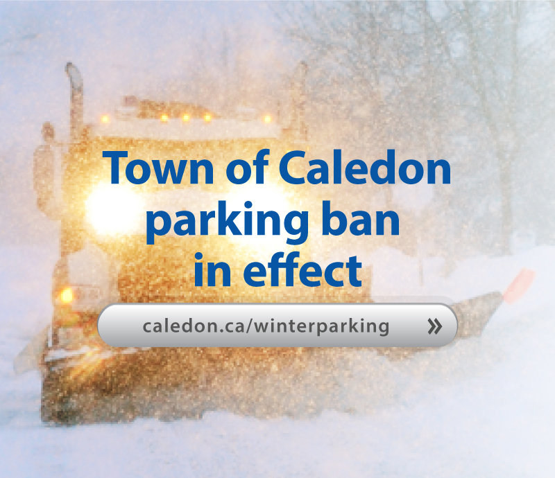 Winter Parking Ban Issued