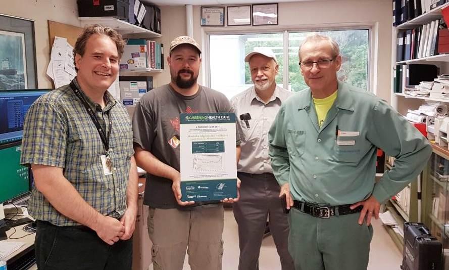 Greening Healthcare 5 Percent Club Award
