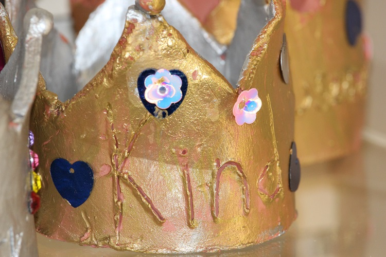 Our Voices exhibition - Kind crown