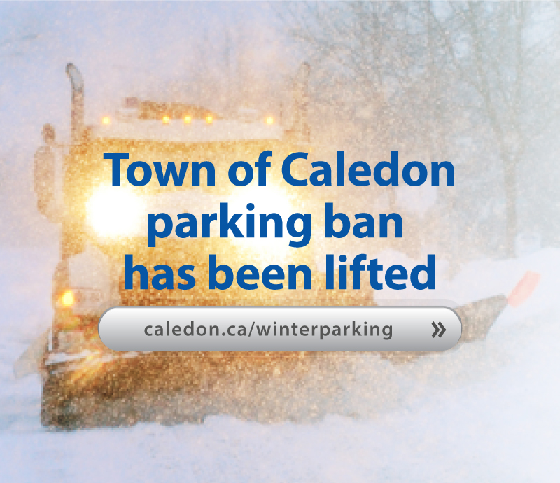 Winter Parking Ban Lifted