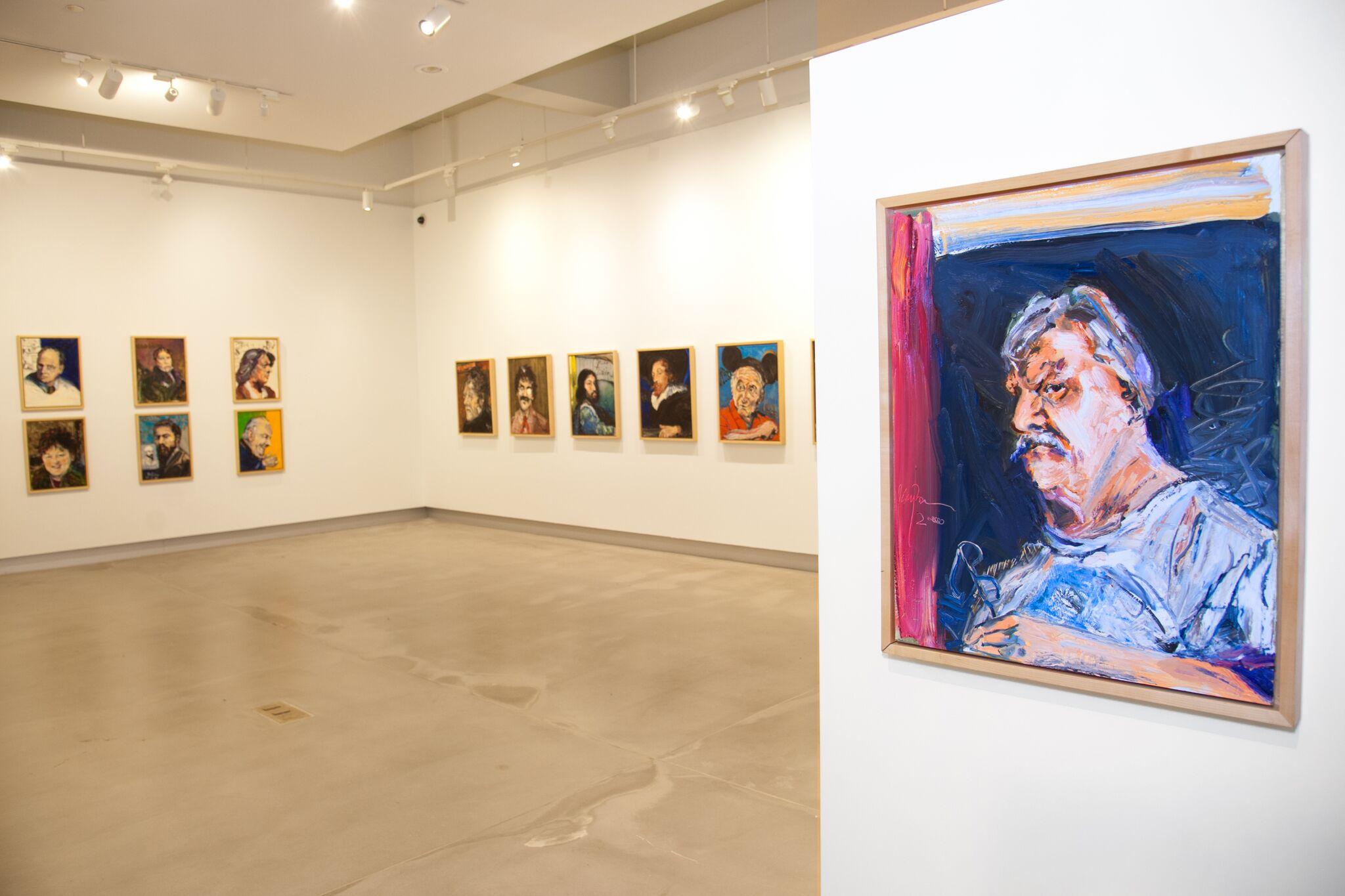 Through Gordon Rayner's Eyes: Portraits of Famous Artists (exhibition)