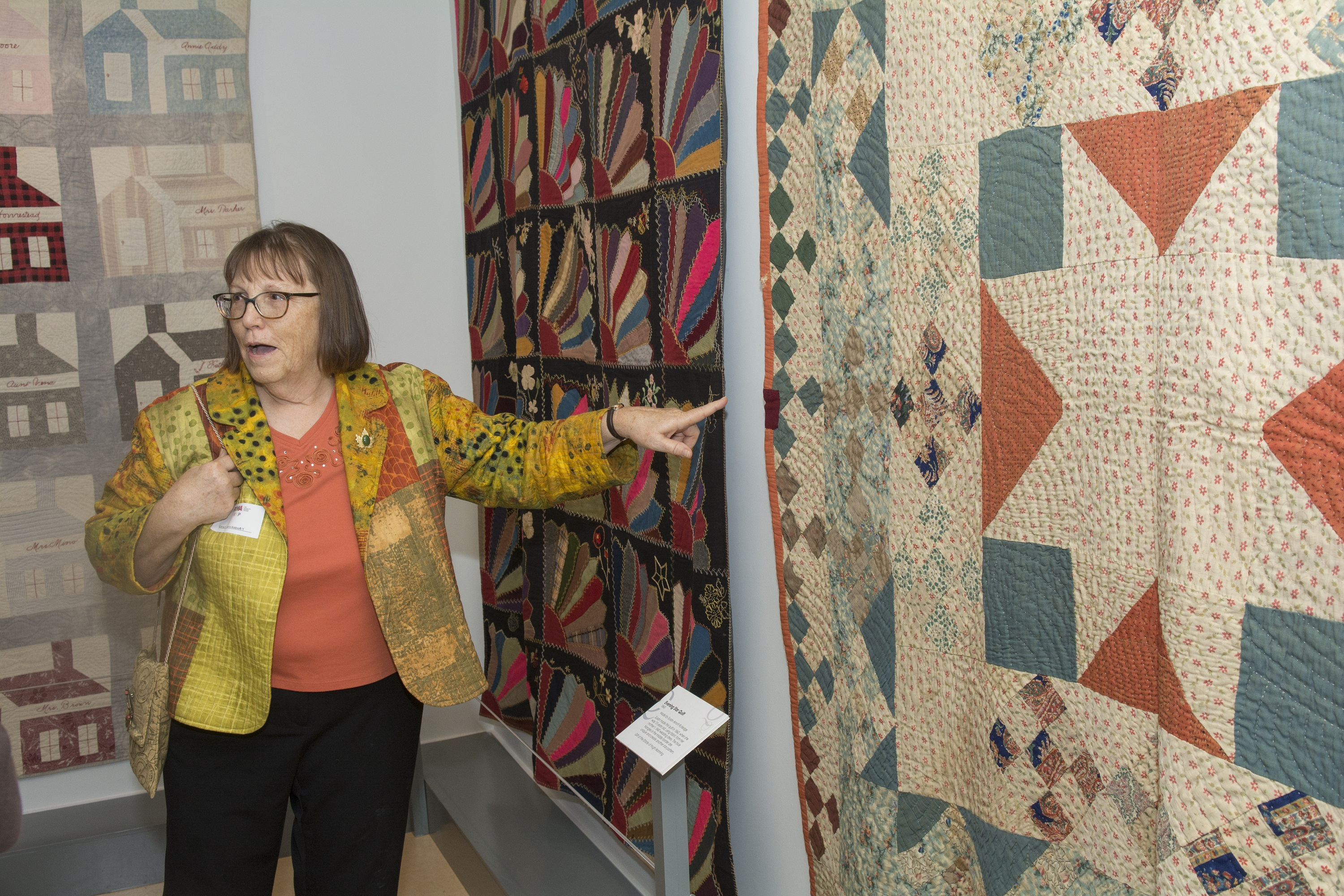 Last day for the Quilts exhibit!