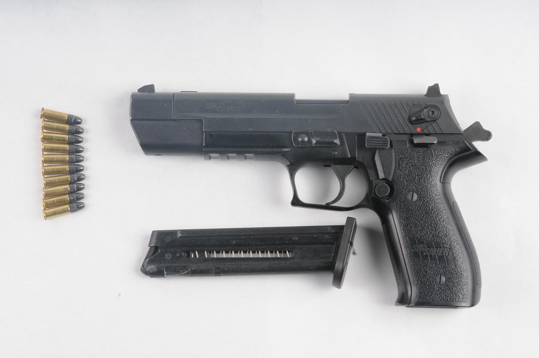 18-004 Firearm seized in Search warrant