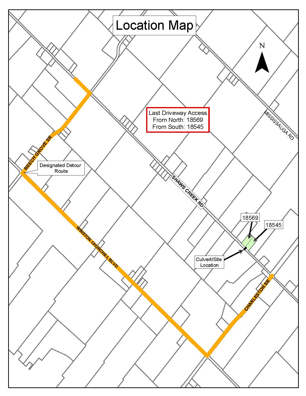 Shaws Creek Road Culvert Replacement