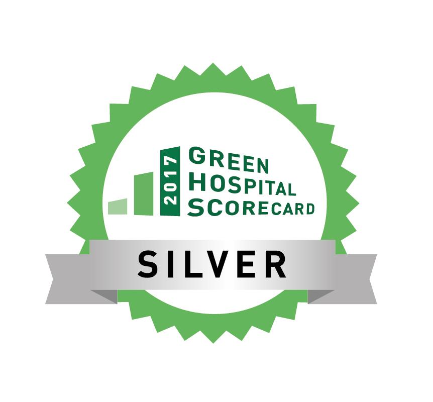 Green Hospital Scorecard Silver Seal 2017