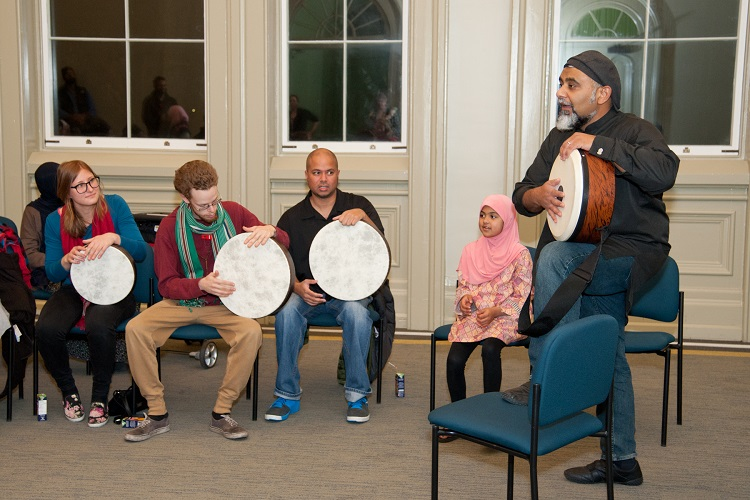 Drumming Workshop with Nader Khan - June 24