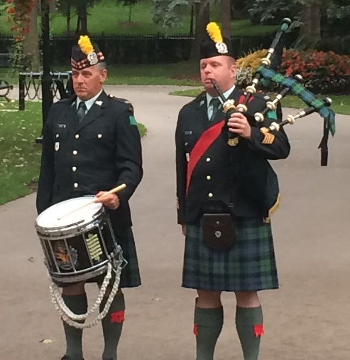 Lorne Scots Pipers - Oct. 1 - Culture Days