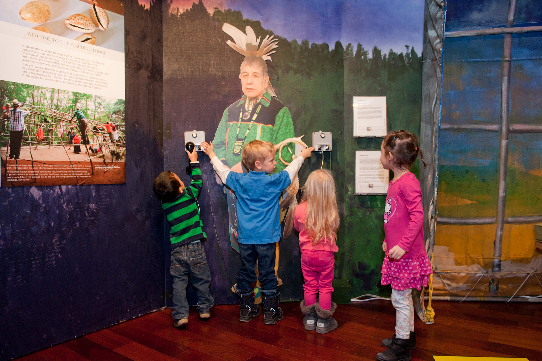 Visit the We Are Here exhibition in celebration of Indigenous History Month