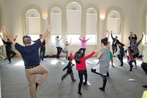 Family Fun Yoga, part of Family Fun Days - Sept. 15