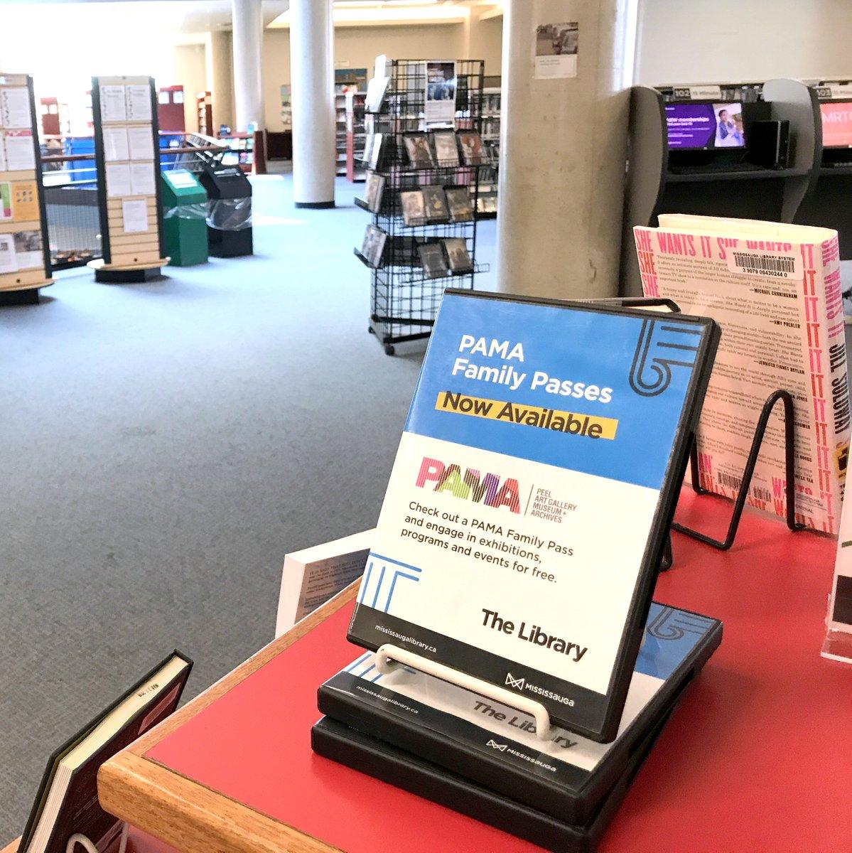 PAMA Library Pass