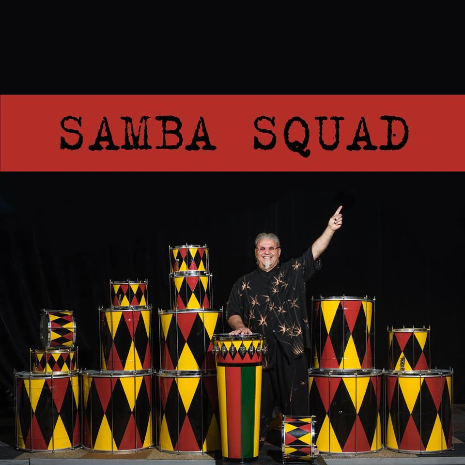 Sammba Squad Preforms Sept. 30 at 2 - 3 pm