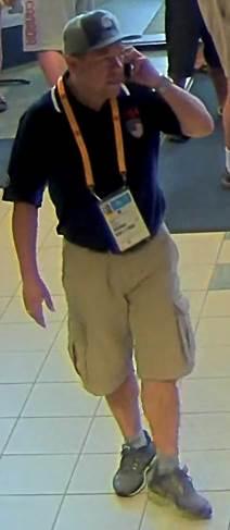Suspect in Theft, Camera