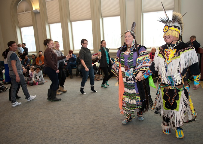Family Fun Day, Indigenous Dancers - June 16