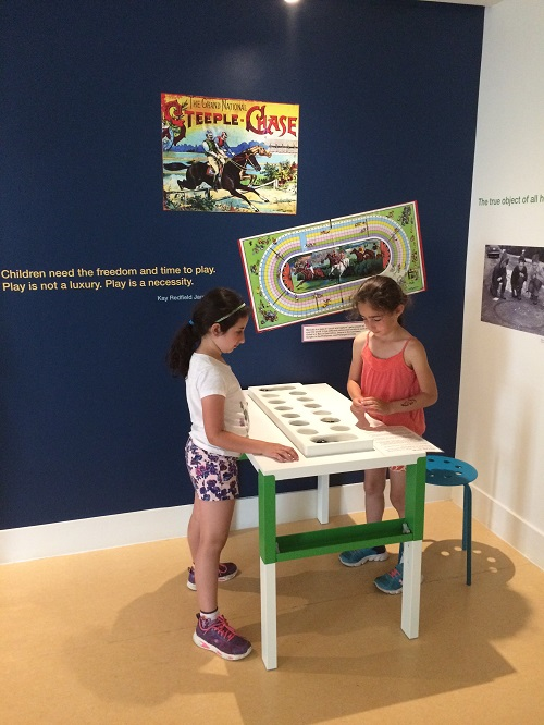 PAMA Campers in Canada at Play exhibition