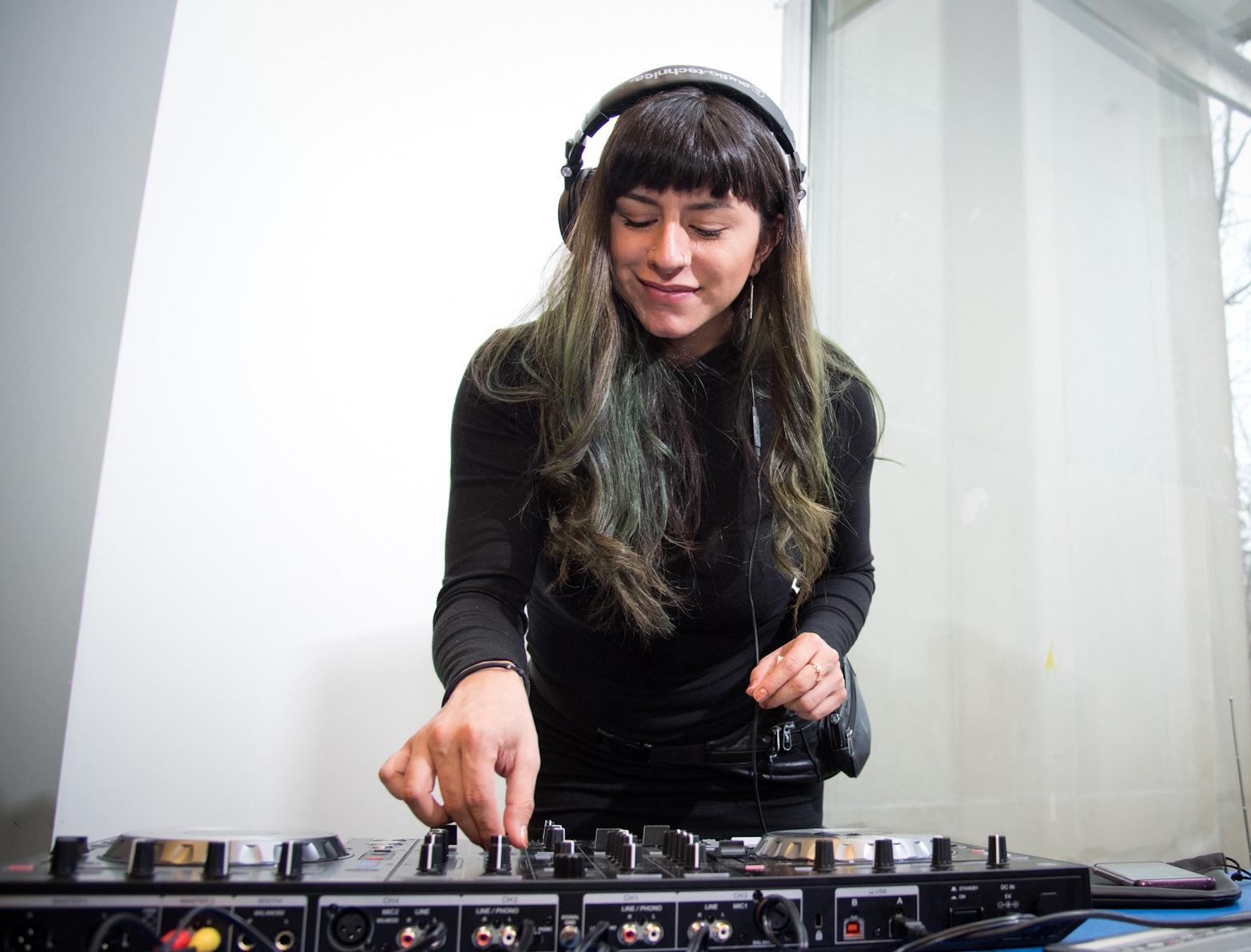 DJ Kiana spinning at PAMA Thursdays on Oct. 24