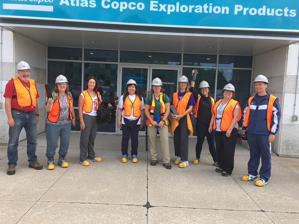Atlas Copco tour