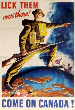 WWII War Posters exhibit