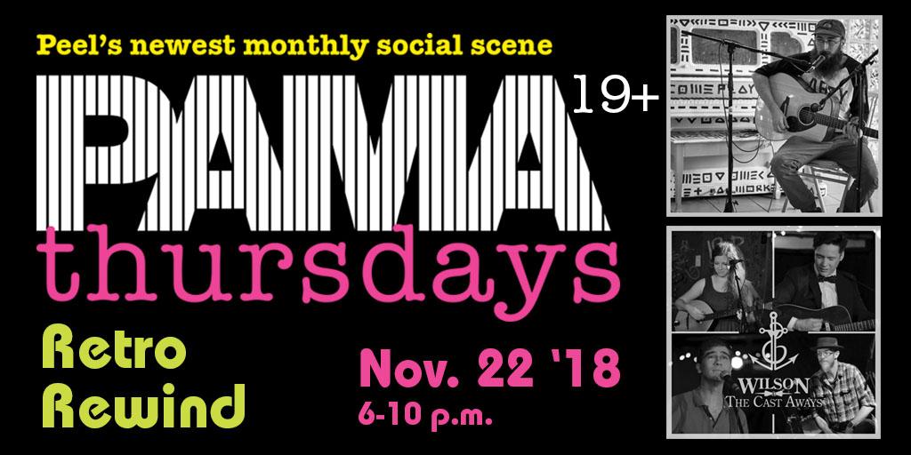 PAMA Thursdays Retro Rewind - Nov. 22