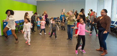 In the Mix Family Dance Workshop Feb. 17