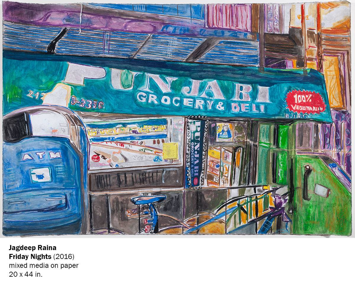 Jagdeep Raina: Chase exhibition on now until May 24