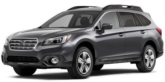 Grey Subaru Outback