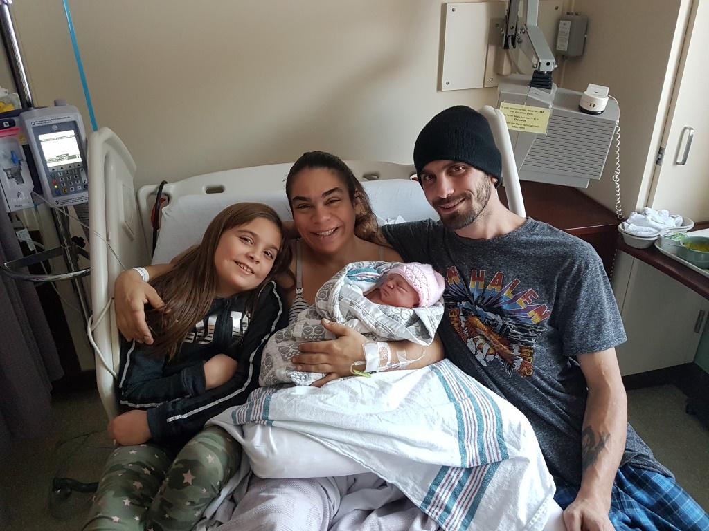 HDMH New Year's baby Aliyah Demers