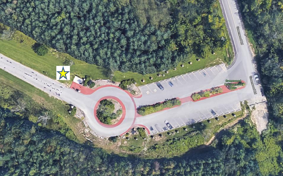 Greenwood Parking Map