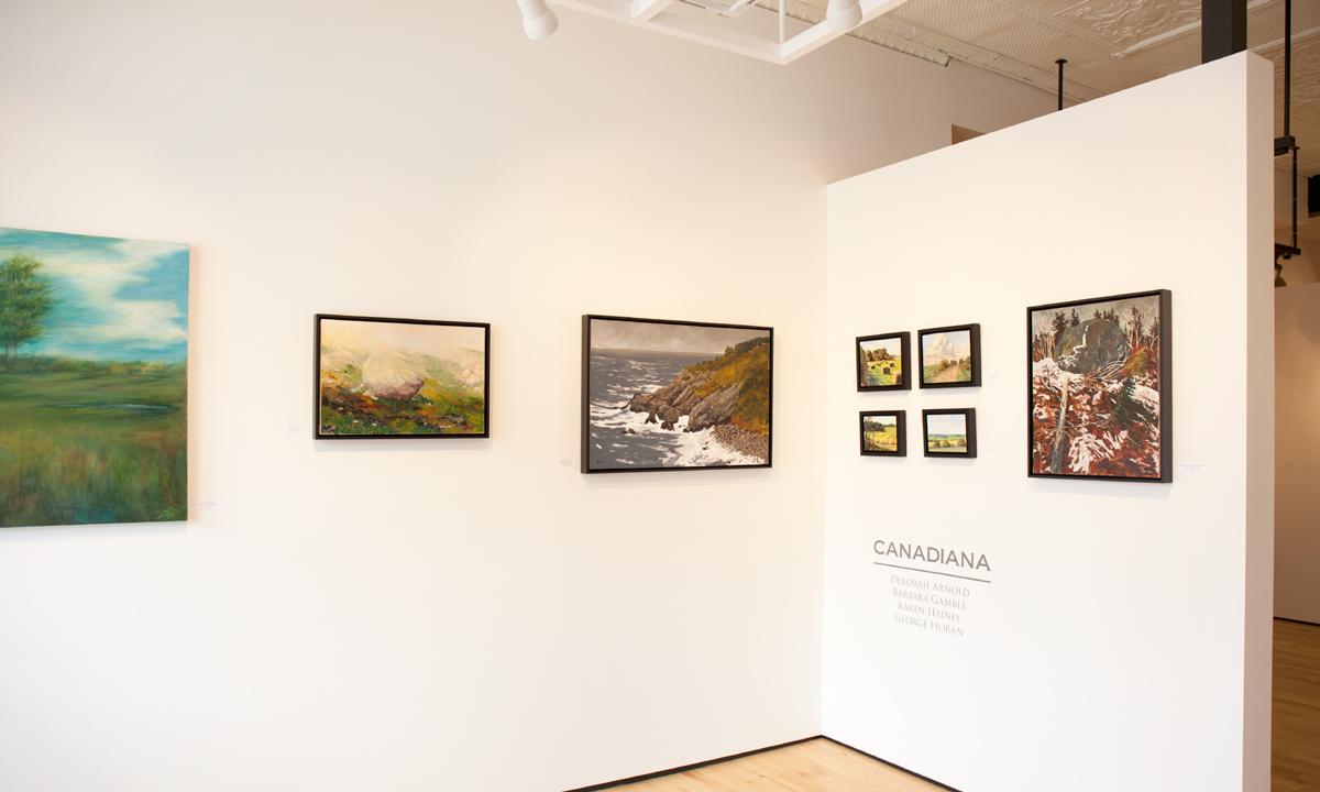 Canadiana Installation Sivarulrasa