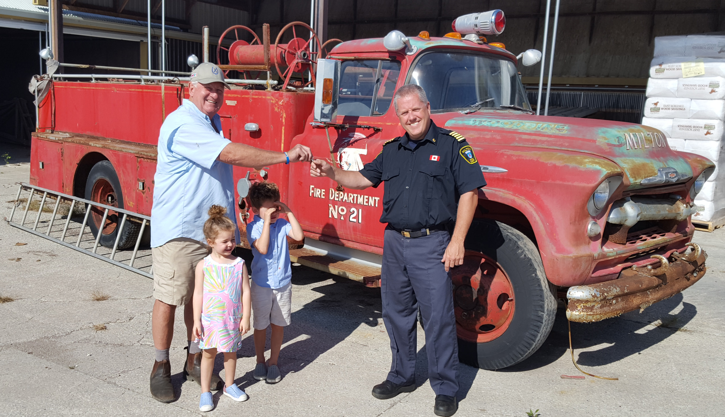 Heritage Fire Truck Donation