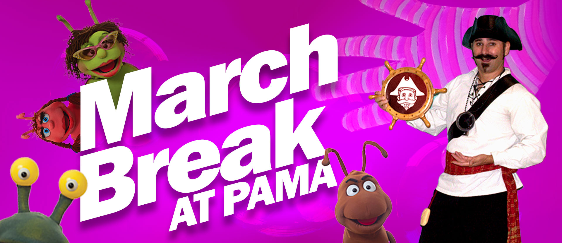 STEAM into March Break  at PAMA (March 16-20)