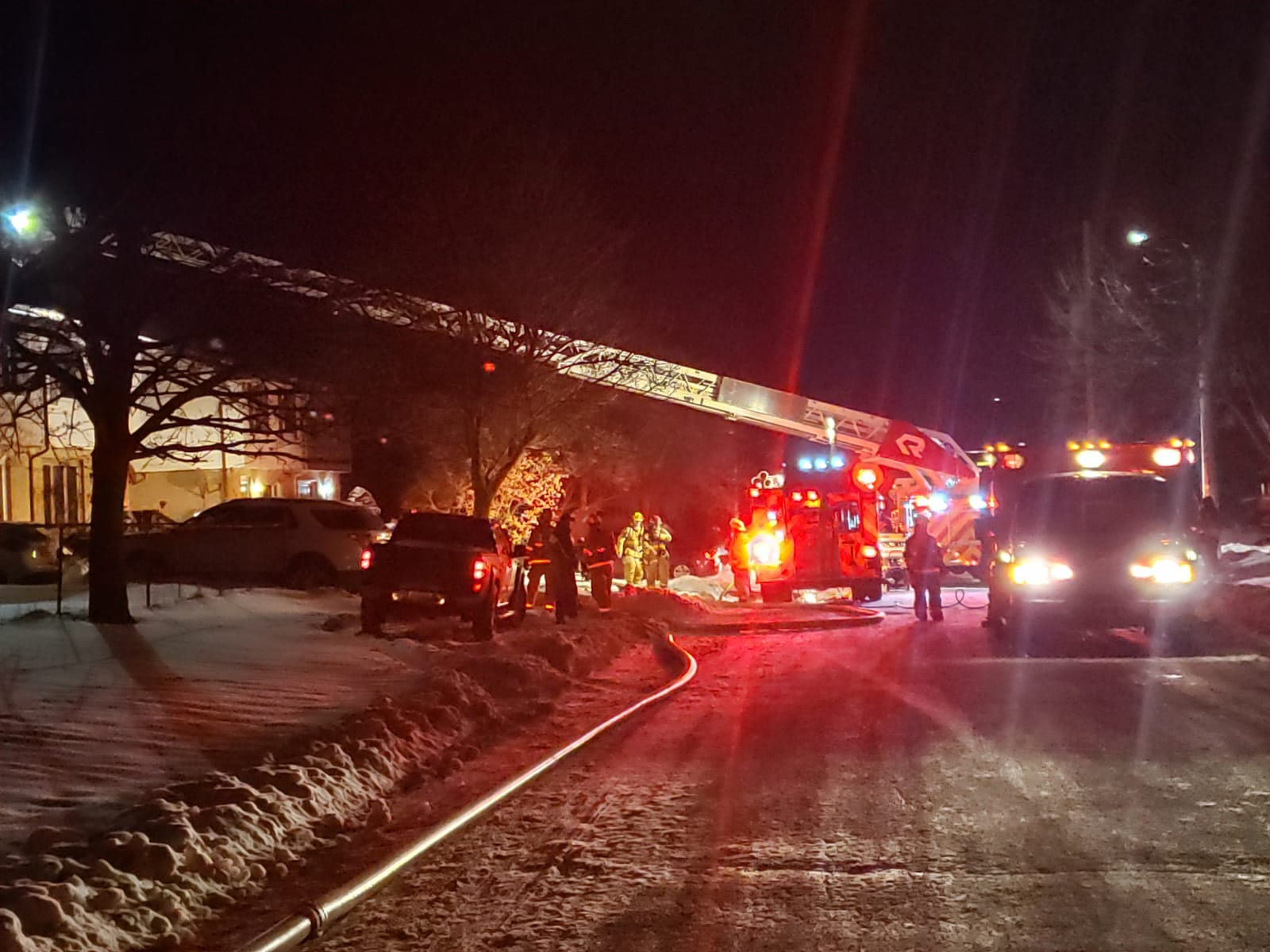 Fire at Strathroyal St. Home