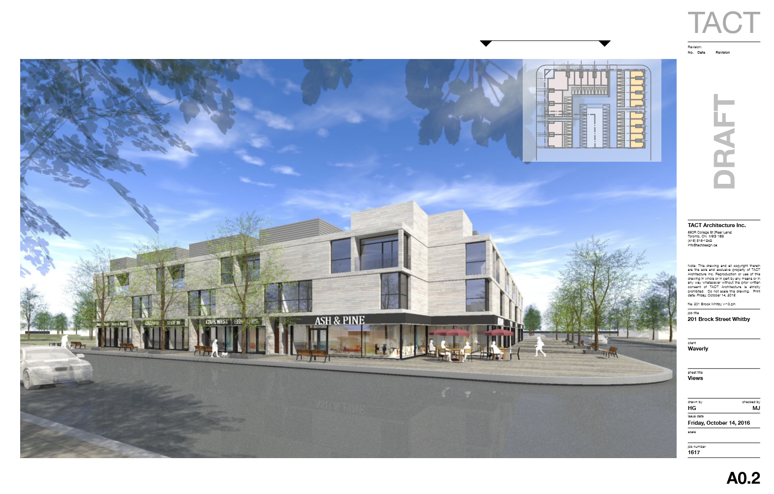Fire Hall Site Redevelopment renderings