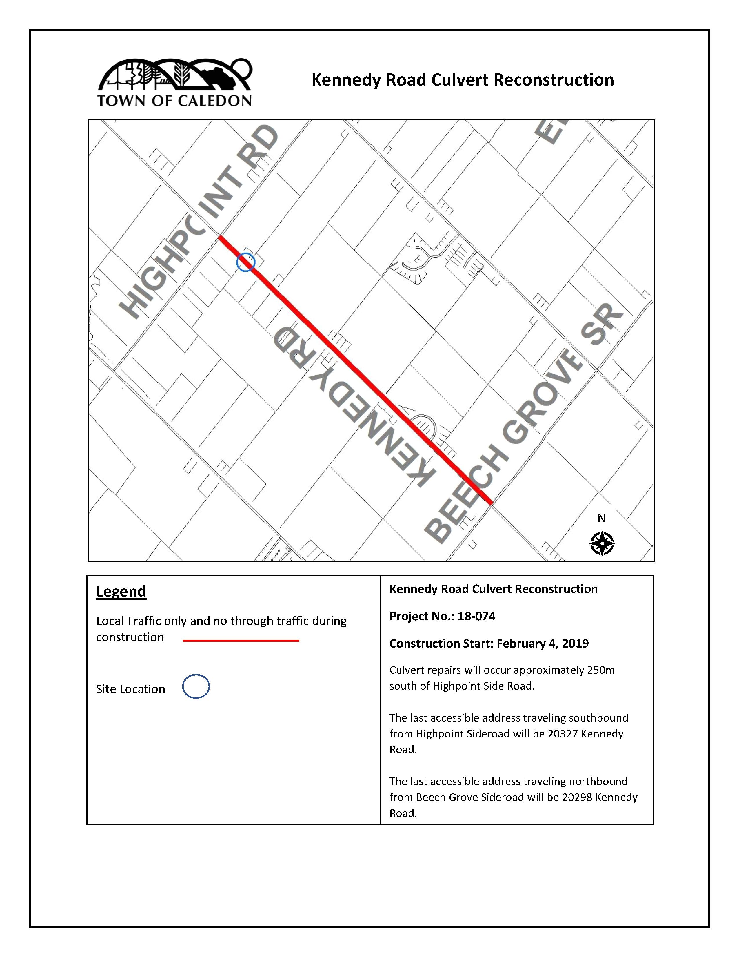 Kennedy Road_Location Map