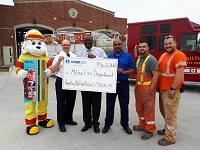 Union Gas cheque presentation