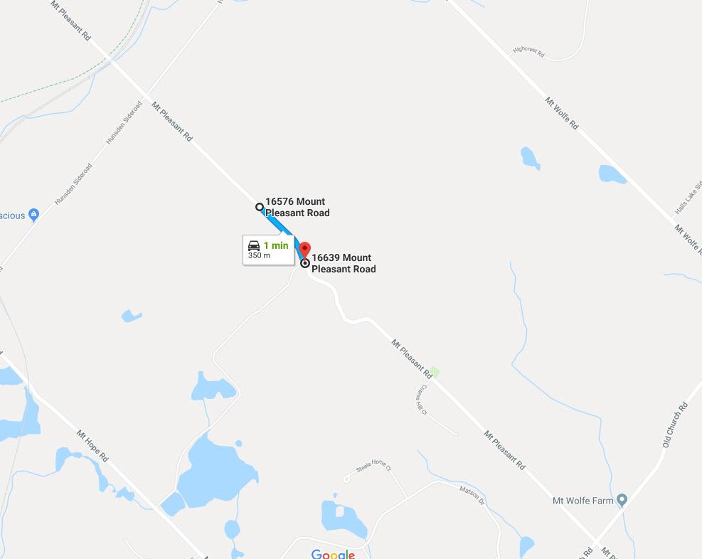 Mount Pleasant Road closure