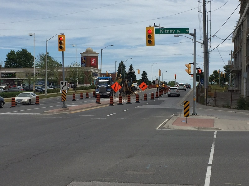 Road Rehabilitation - Bayly Street (Regional Road 22) and Harwood Avenue Intersection