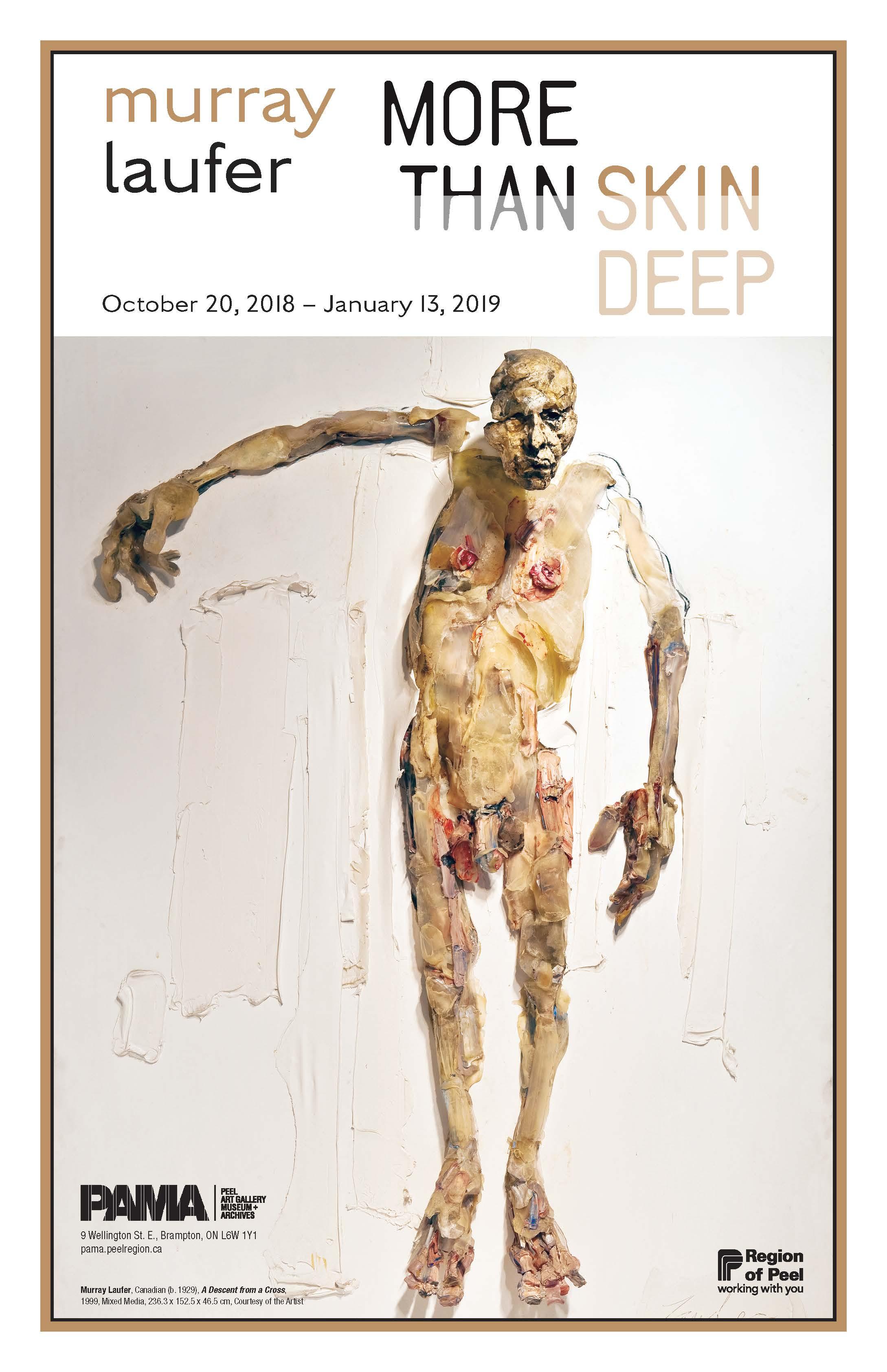 Murray Laufer exhibit poster