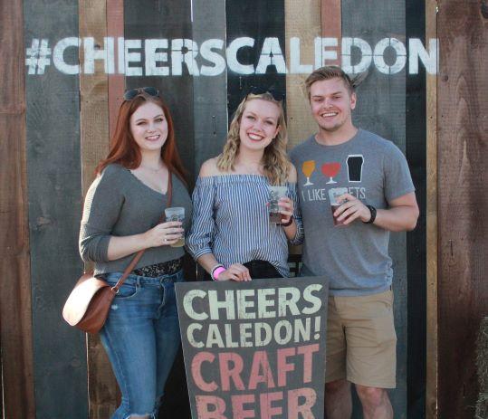Cheers Caledon!