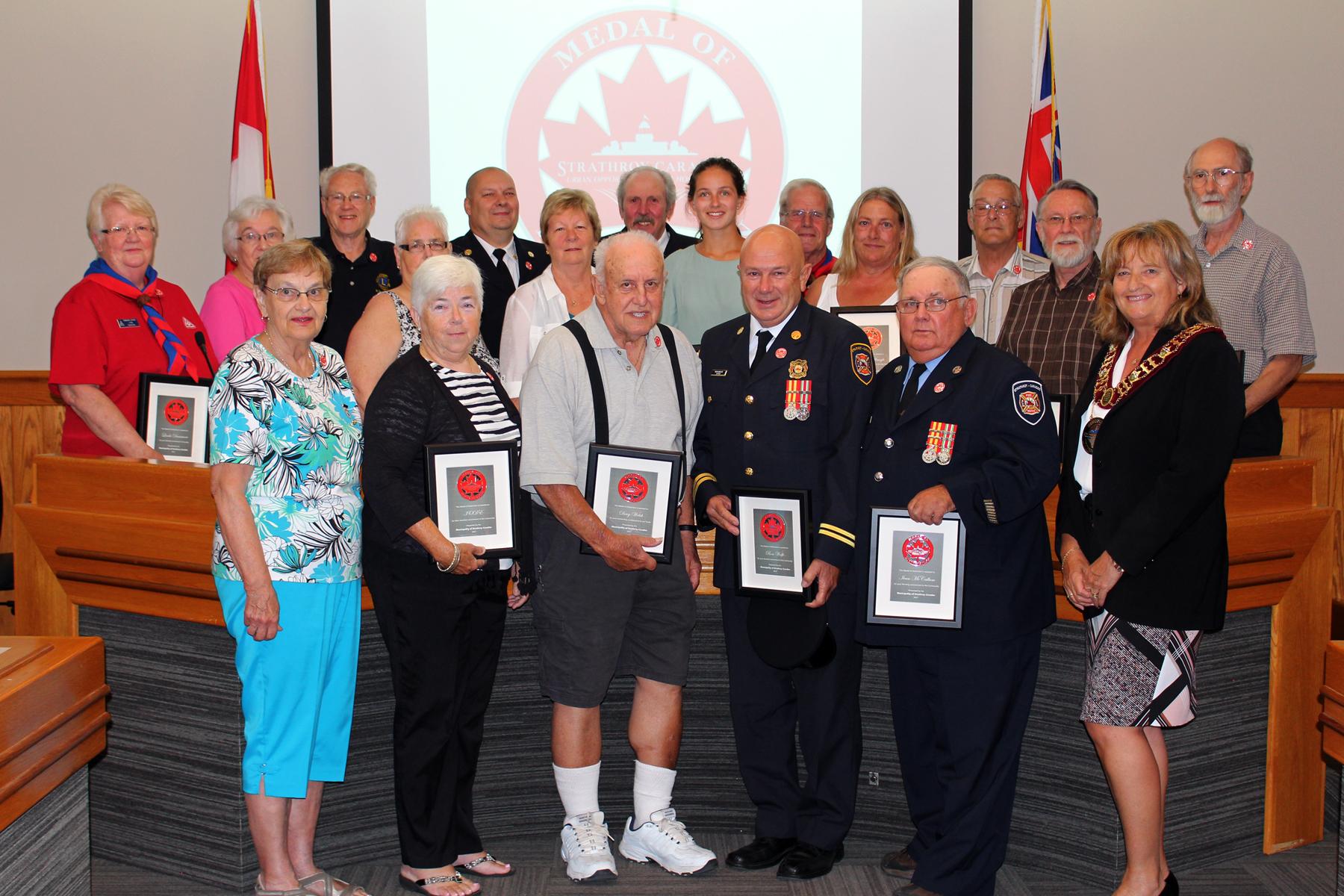 2017 Medal of Distinction Recipients